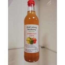 Ocet winny beczkowy - jabłkowy 500 ml
