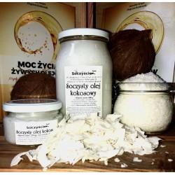 Olej kokosowy tłoczony na zimno 250 ml