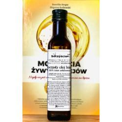 Olej lniany z lnu brązowego tłoczony na zimno 250 ml